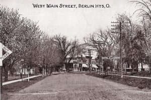 west main lse crossing postcard